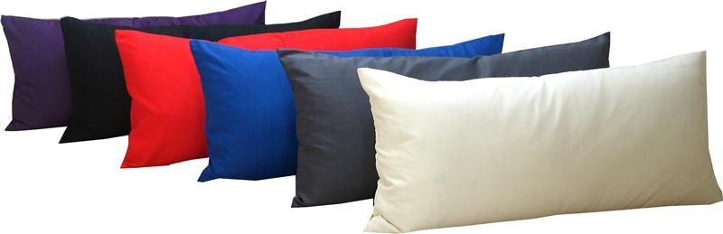 kissenh lle uni ca 40x80 cm kissenbezug deko kissen wildseideno. Black Bedroom Furniture Sets. Home Design Ideas