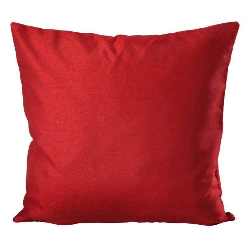 kissenh lle seidenglanz uni kissenbezug dunkelrot 50x50 haus und deko 5 95. Black Bedroom Furniture Sets. Home Design Ideas