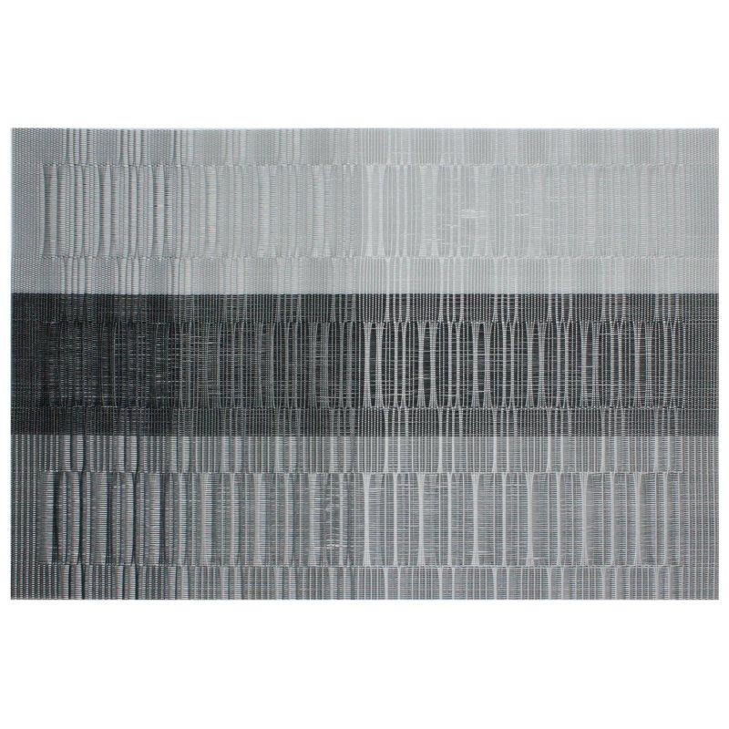 platzset gestreift pvc vinyl tischset abwaschbar 30x45 cm streifen we 2 95. Black Bedroom Furniture Sets. Home Design Ideas
