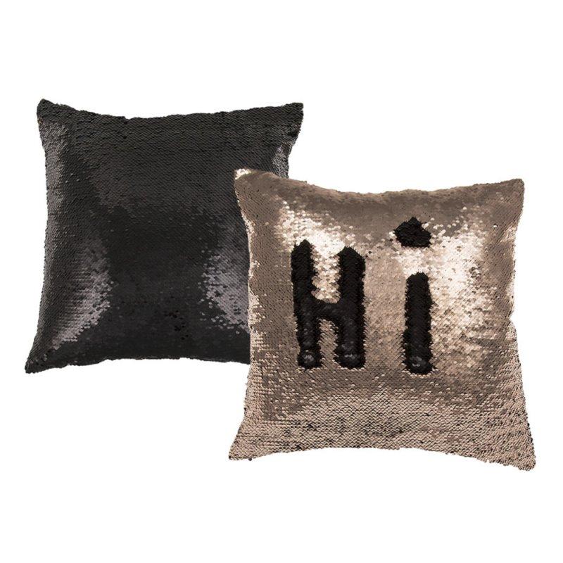 dekokissen wendepailletten 2 farbig paillletten kissen incl f llung 14 95. Black Bedroom Furniture Sets. Home Design Ideas