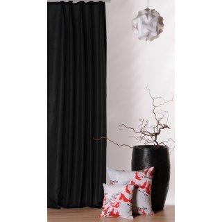 bergardine franziska schwarz kr uselband haus und deko 17 95. Black Bedroom Furniture Sets. Home Design Ideas