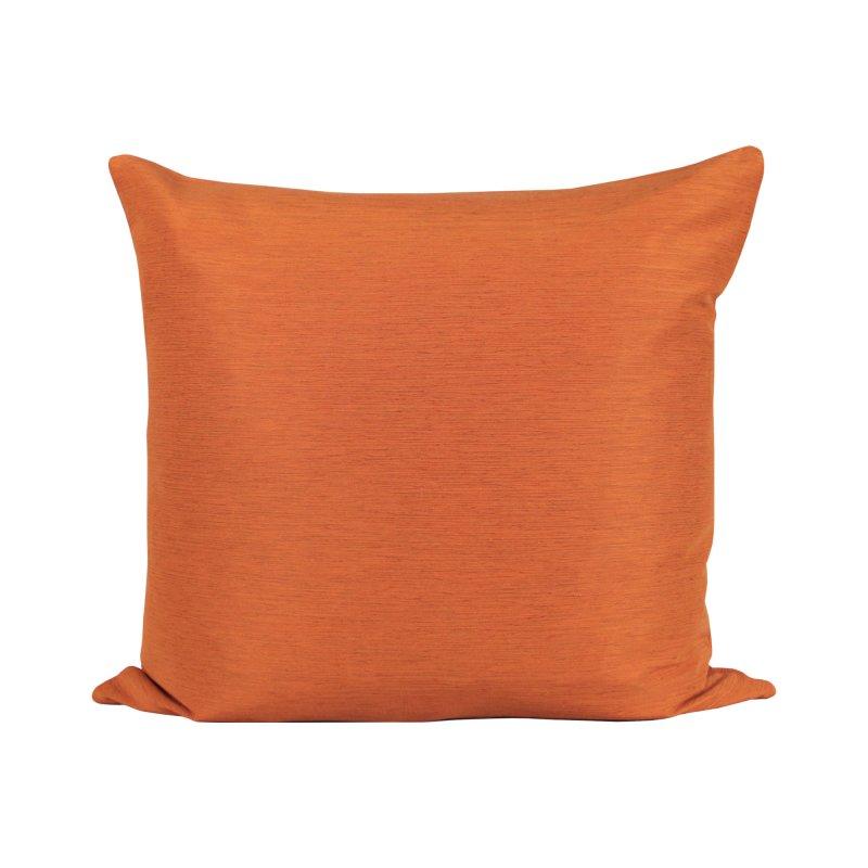 kissenh lle 50x50 joy elegant meliert rost orange haus. Black Bedroom Furniture Sets. Home Design Ideas