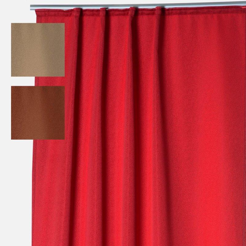 thermogardine finnland damast reptil muster vorhang blickdicht polar fleece gardine 140x245 cm. Black Bedroom Furniture Sets. Home Design Ideas