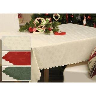 tischdecke winterzeit weihnachten mitteldecke ca 85x85 cm. Black Bedroom Furniture Sets. Home Design Ideas