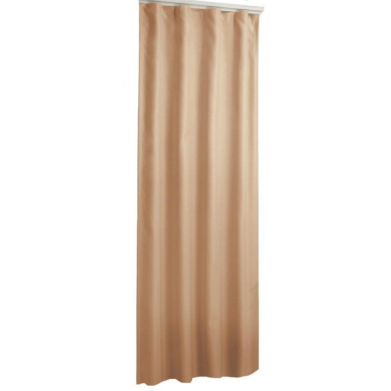 verdunklungsvorhang uni camel 135 x 245 kr uselband haus und deko 26 95. Black Bedroom Furniture Sets. Home Design Ideas