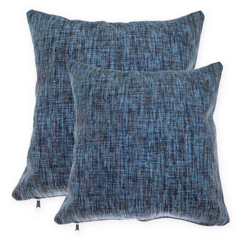kissenh lle strukturgewebe multicolor kissenbezug deko kissen ca 40 9 95. Black Bedroom Furniture Sets. Home Design Ideas