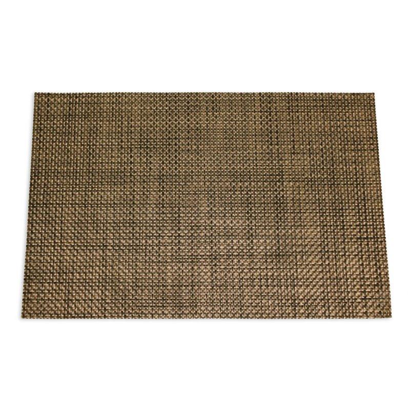 platzset edel abwaschbar geflochten eckig 30x45 tischset. Black Bedroom Furniture Sets. Home Design Ideas