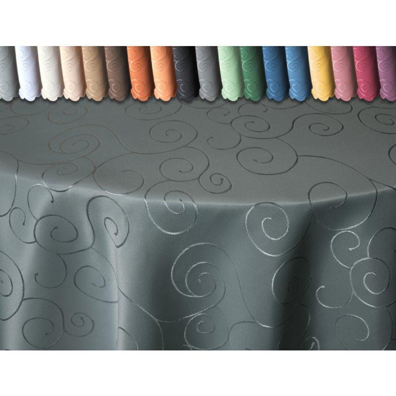 tischdecke oval 160x260 cm struktur damast circle b gelfrei fleckenab 23 95. Black Bedroom Furniture Sets. Home Design Ideas