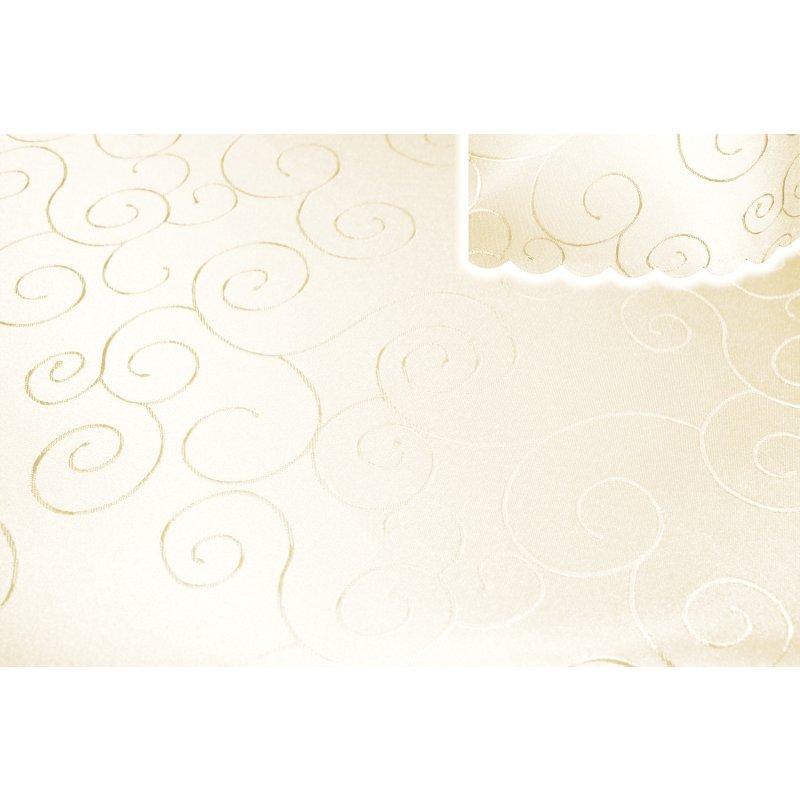 tischdecke oval 160x260 cm struktur damast circle b gelfrei fleckenabweisend 1235 champagner. Black Bedroom Furniture Sets. Home Design Ideas