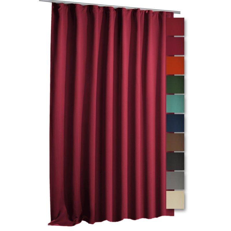 verdunkelungsvorhang blackout vorhang kr uselband blickdicht 270 x 24 59 95. Black Bedroom Furniture Sets. Home Design Ideas