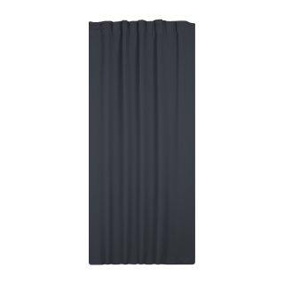 verdunklungsgardine blackout grau dunkel 295x245 kr uselband haus u 49 94. Black Bedroom Furniture Sets. Home Design Ideas