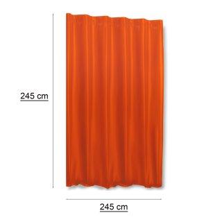 thermogardine alaska orange hell extra breit polar fleece kr uselband 59 95. Black Bedroom Furniture Sets. Home Design Ideas