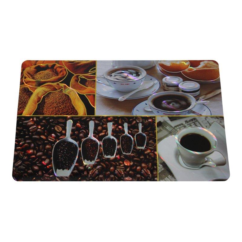 platzset kaffee kunststoff abwaschbar tischset deckchen untersetzer 2 75. Black Bedroom Furniture Sets. Home Design Ideas