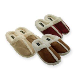 Damen Pantoffeln Lammflor 36 41 100 Polyester 1496