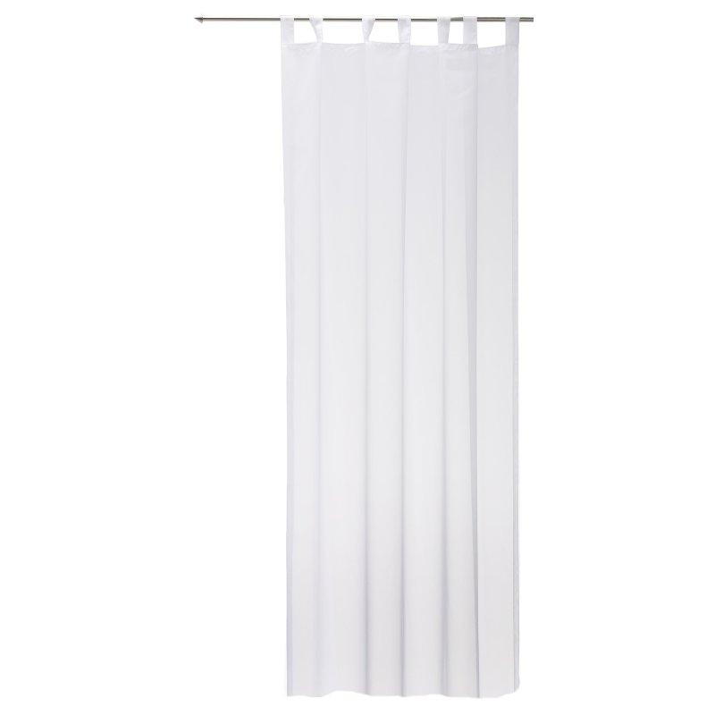 schlaufenschal wei voile gardine transparent emotion schlaufe klassi 8 45. Black Bedroom Furniture Sets. Home Design Ideas