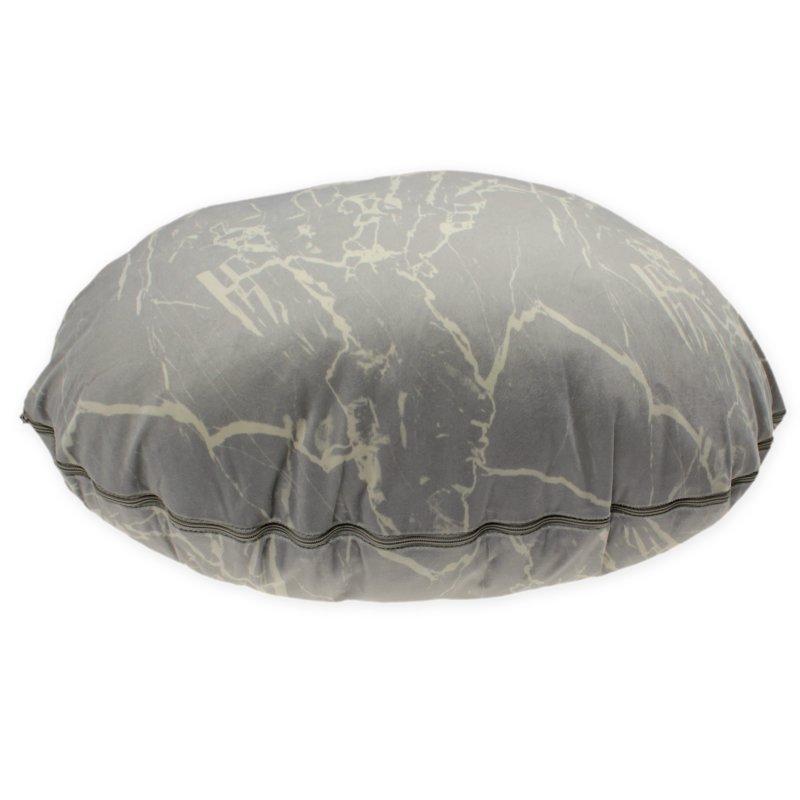 dekokissen deko stein marmoriert kissenbezug 45x65 cm kissen incl f 9 95. Black Bedroom Furniture Sets. Home Design Ideas