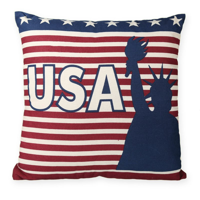 kissenh lle stars stripes usa flagge kissenbezug deko kissen ca 40 11 95. Black Bedroom Furniture Sets. Home Design Ideas