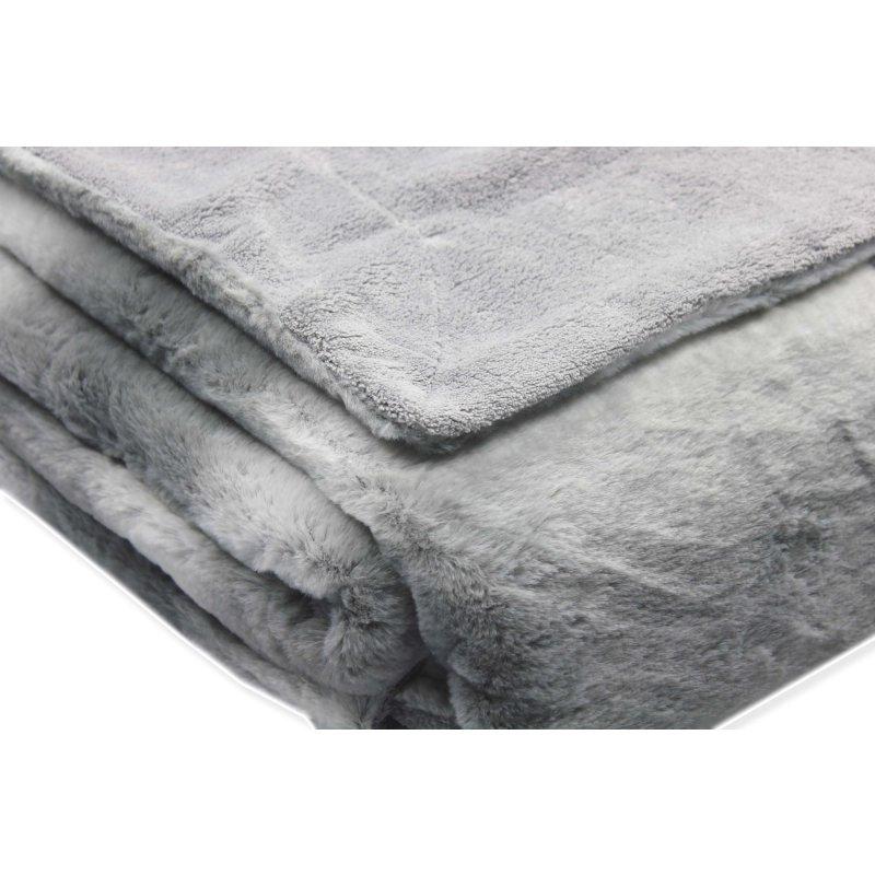 kuscheldecke fellimitat luxury sofadecke ca 150x220 cm coral fleece 29 95. Black Bedroom Furniture Sets. Home Design Ideas