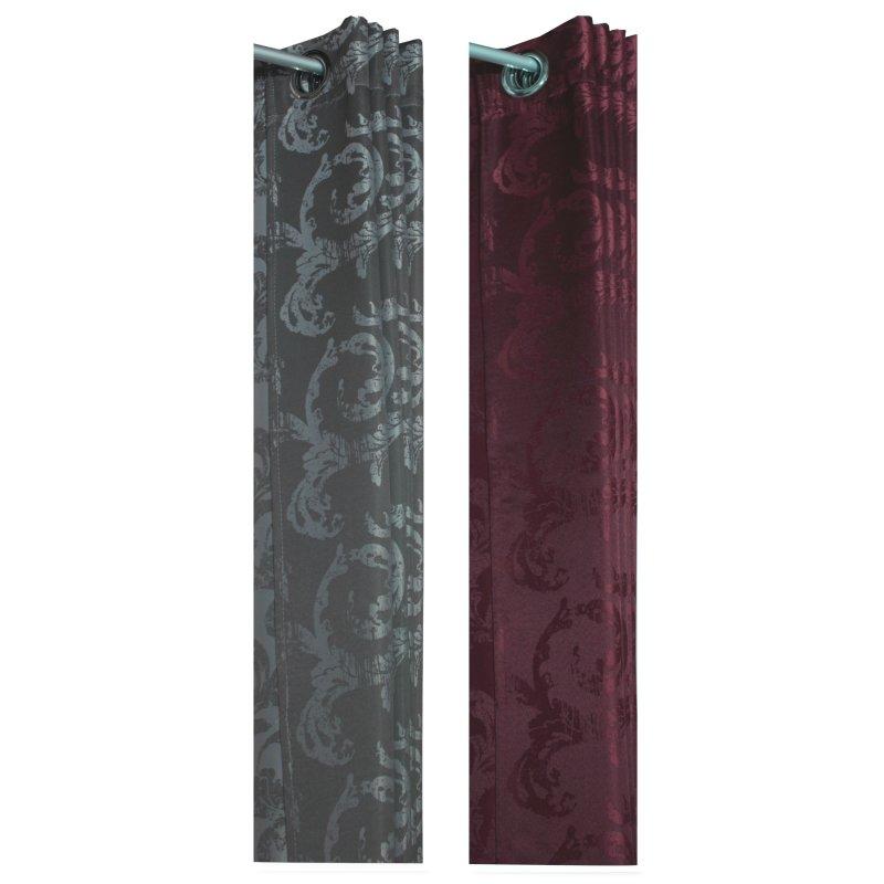 jacquard bergardine mit sen in zwei farben140x245 barock stil vorha 18 94. Black Bedroom Furniture Sets. Home Design Ideas