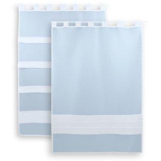 fenstergardine scheibengardine wei ca 80x110 cm schlaufen raffoptik 8 95. Black Bedroom Furniture Sets. Home Design Ideas
