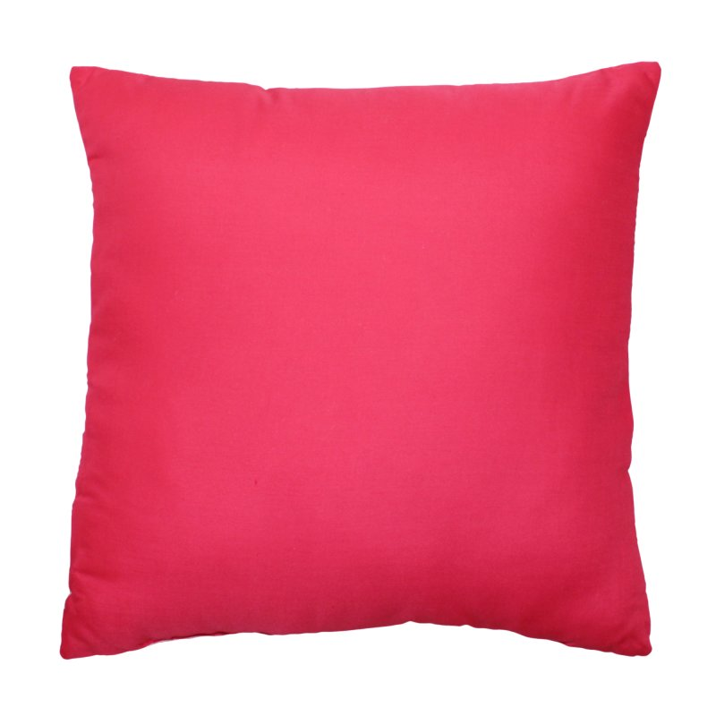 flamingo dekokissen ca 40x40 cm kissen mit f llung creme pink 1817 11 95. Black Bedroom Furniture Sets. Home Design Ideas