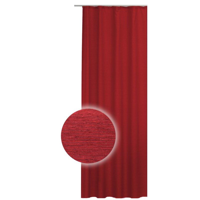 bergardine 140x240 cm struktur meliert u band gardine chilli pepper 24 95. Black Bedroom Furniture Sets. Home Design Ideas